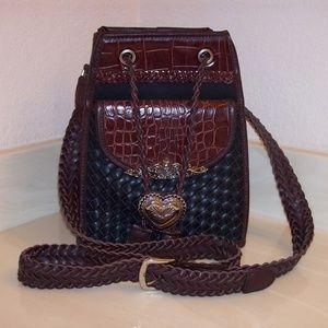 Brighton Style Feed Bucket Handbag